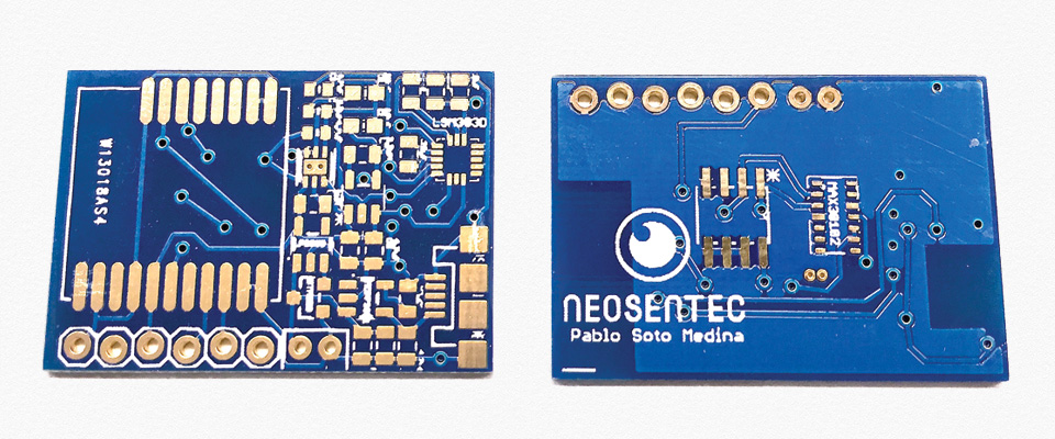 circuito integrado desarrollado en Neosentec