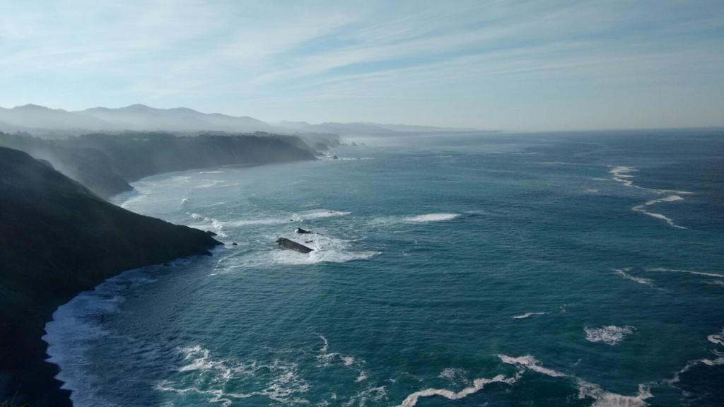 Vista desde el Cabo Vidio