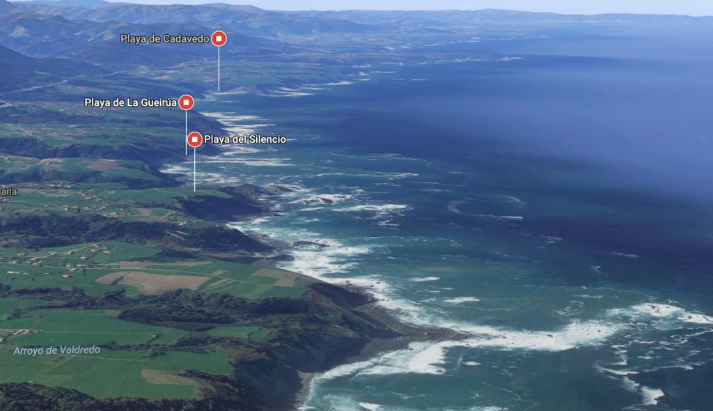 Vista desde Google maps 3D
