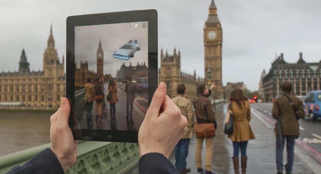 Turismo y realidad aumentada con gamificación