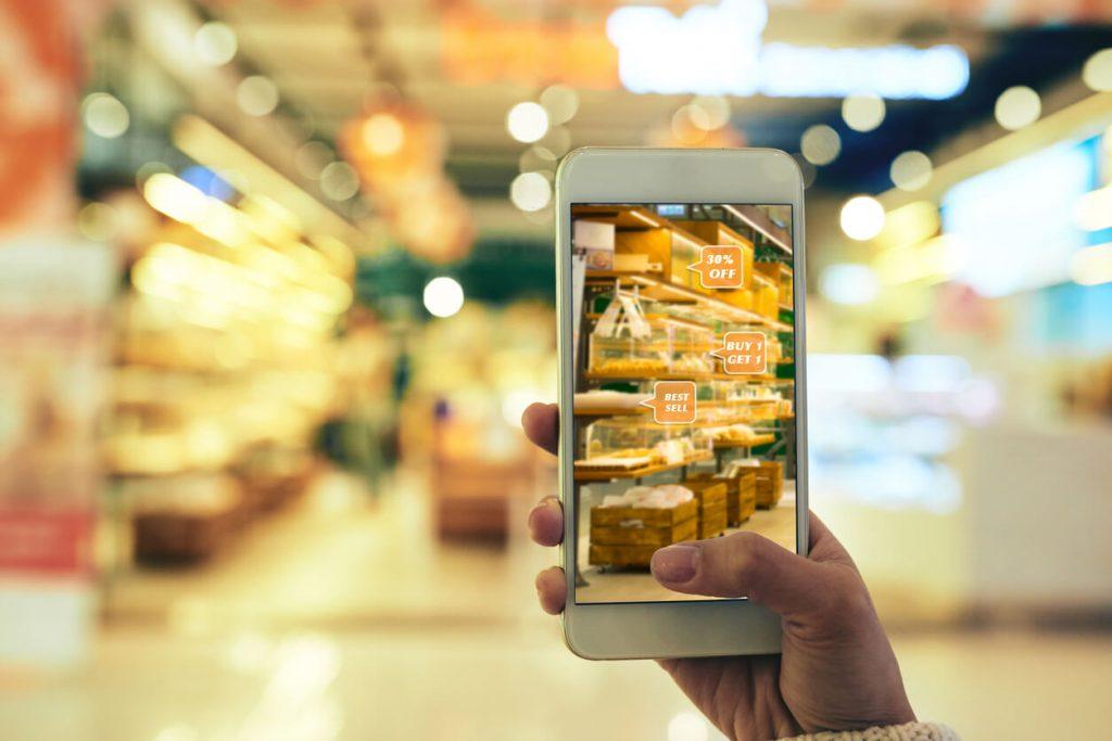 Realidad aumentada en sector retail